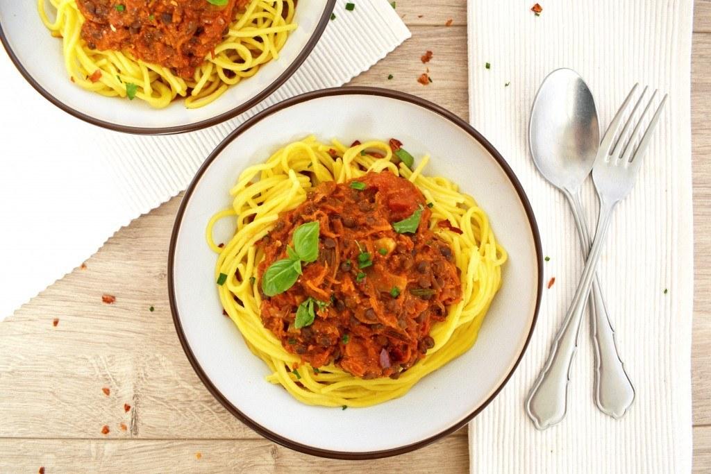 18 06 11 Samen Eten Linzen Bolognese Voor Vleeseters Én Vegetariërs 2