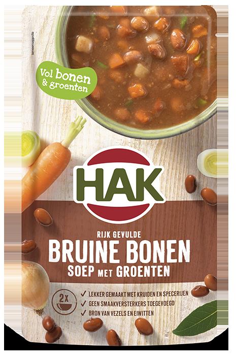 Hak Bruine Bonen Soep 570Ml Nl Ean 8720600614569