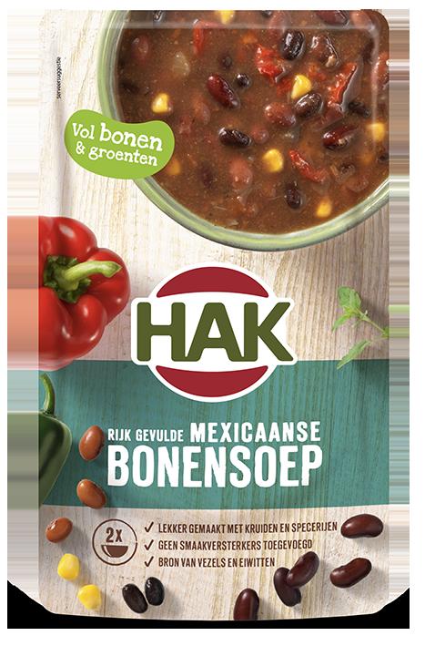 Hak Mexicaanse Bonen Soep 570Ml Nl Ean 8720600614507