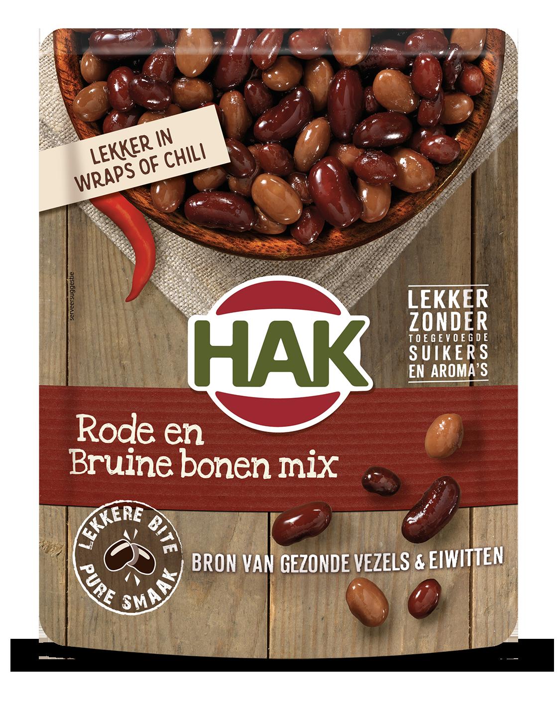 Hak Rode Bruine Bonen 270G Nl Ean 8720600613661