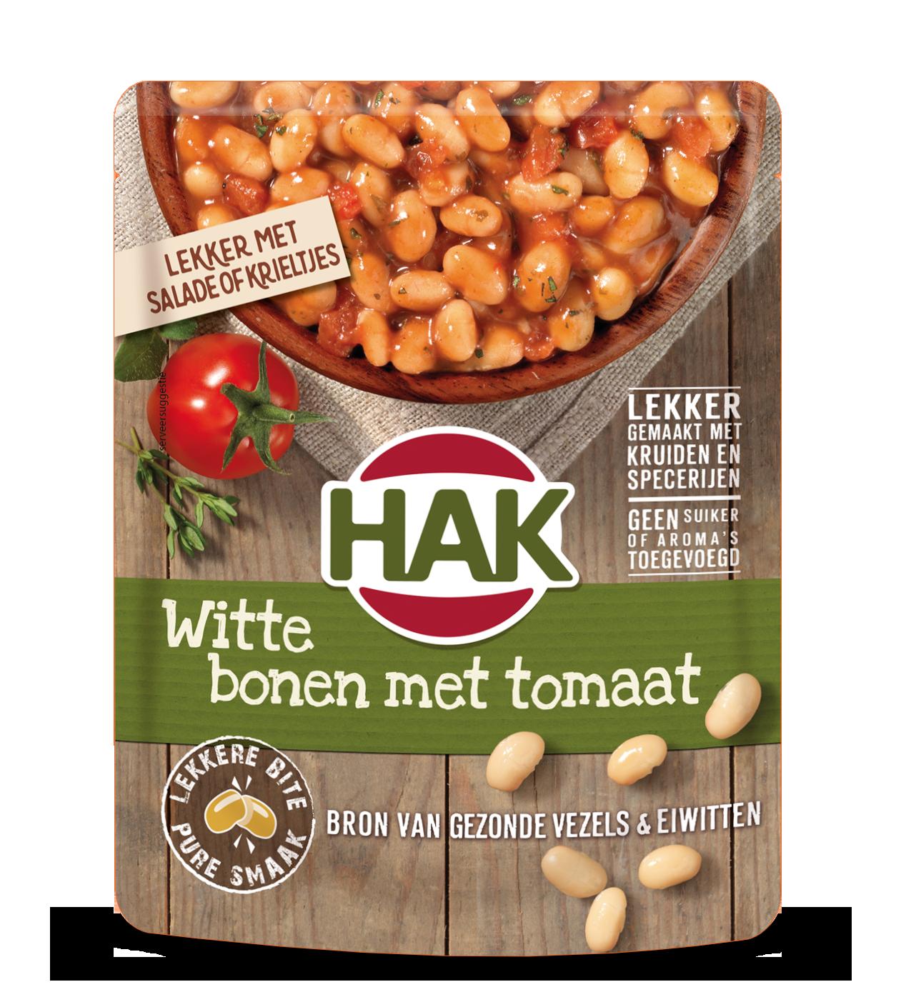 Hak Witte Bonen Met Tomaat 270G Nl Ean 8720600613869