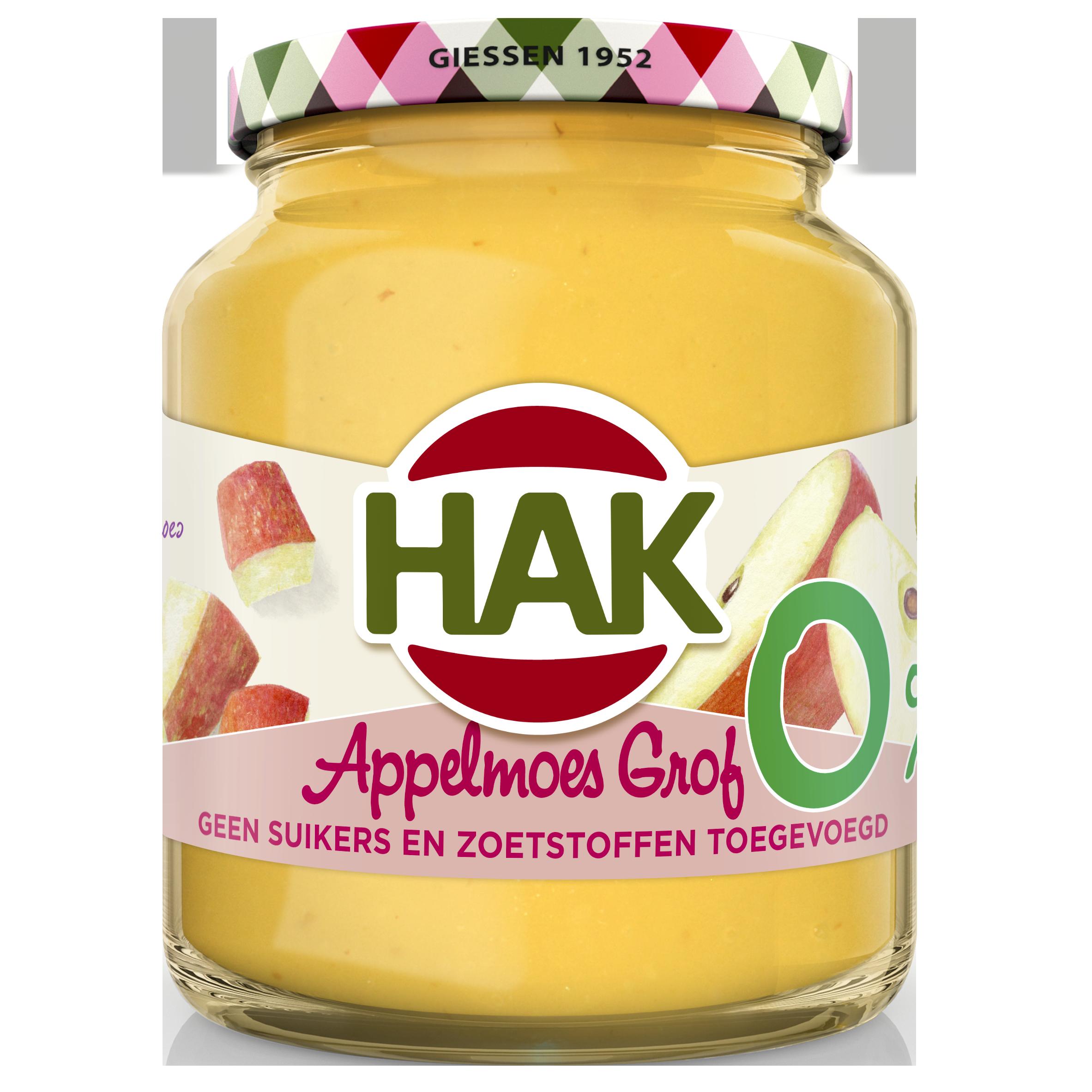 HAK Appelmoes Grof 0 370 NL 8720600618017 1901099 FRONT