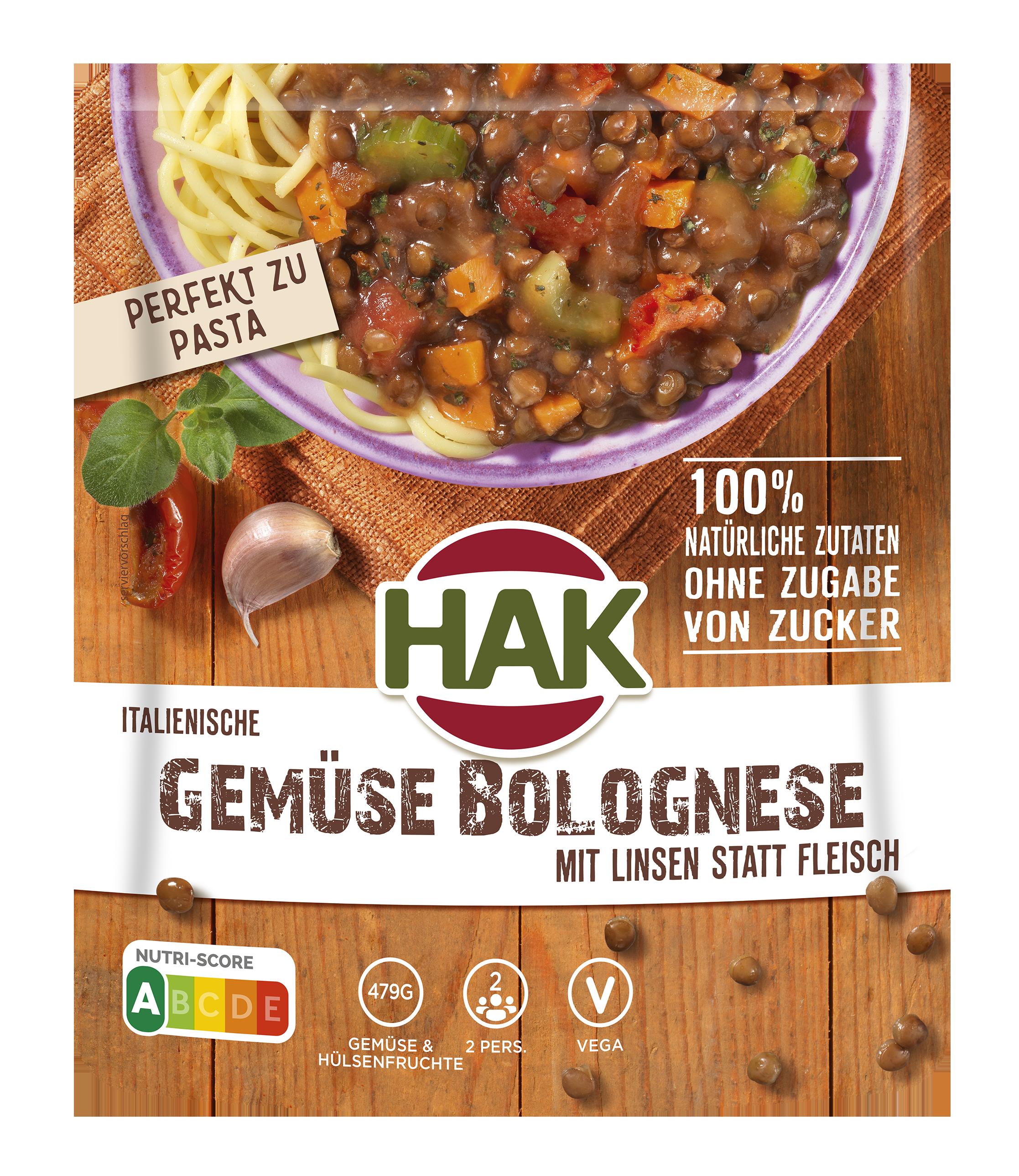 vegane bolognese linsen