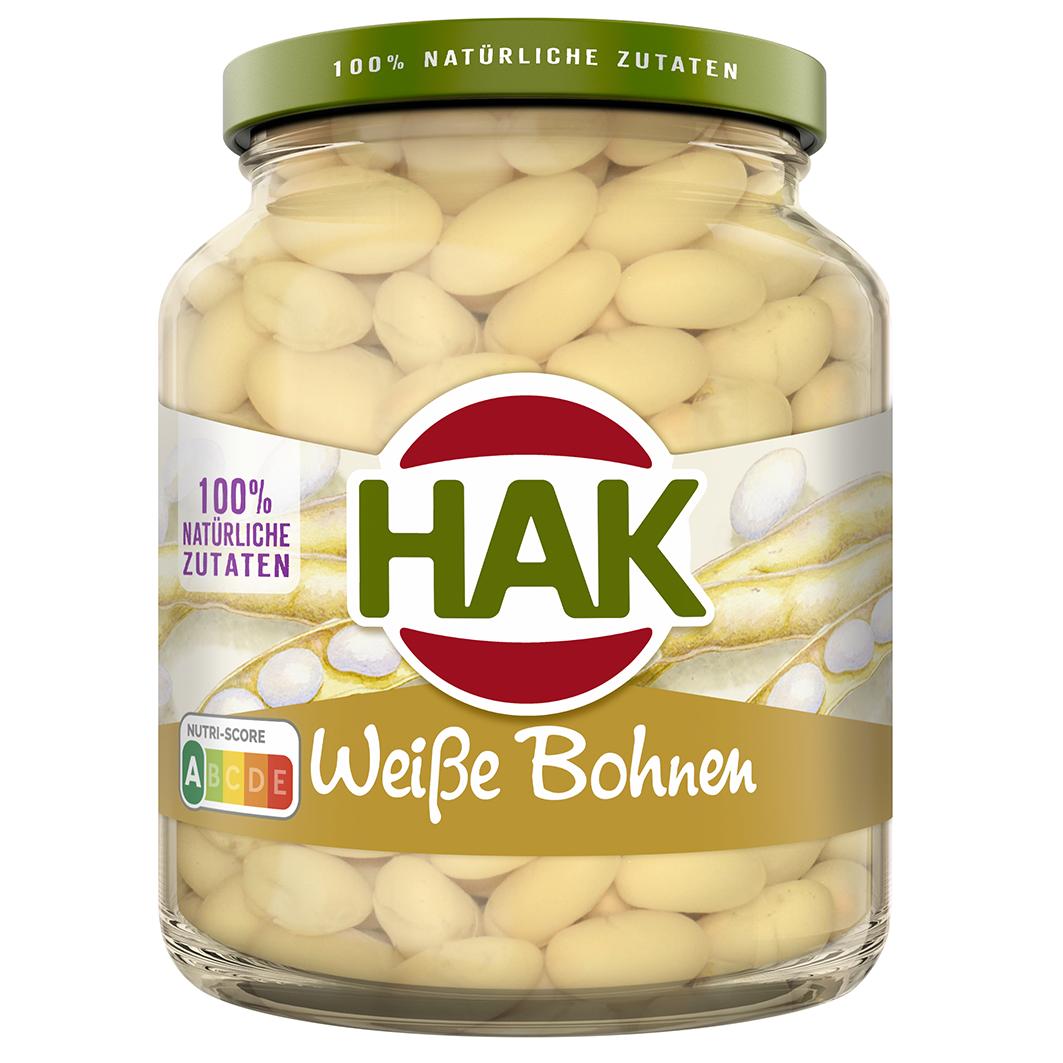 HAK Weisse Bohnen 370 DU 8720600141102 FRONT lowres