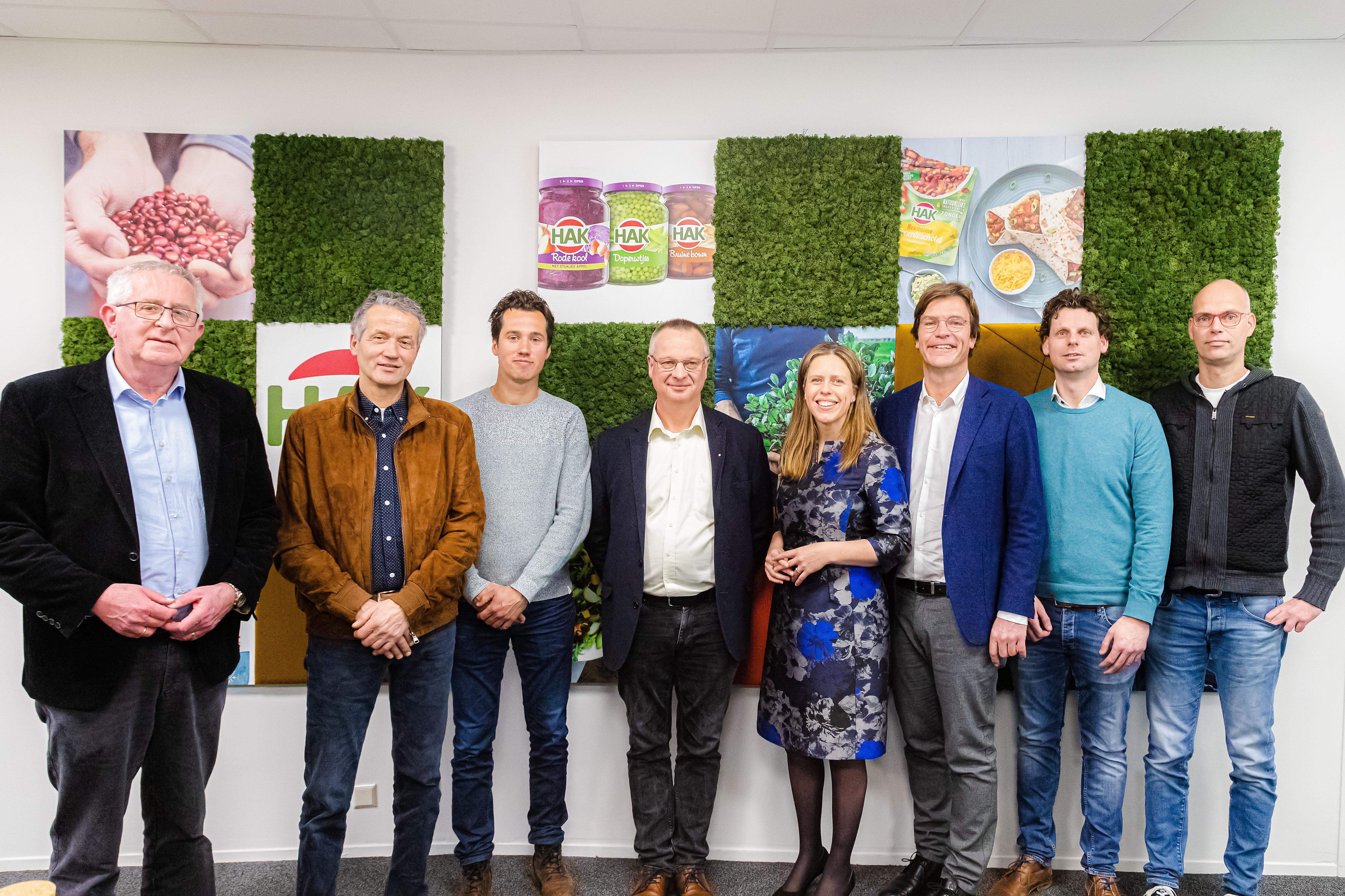 HAK minister Carola Schouten & Telers bezoek