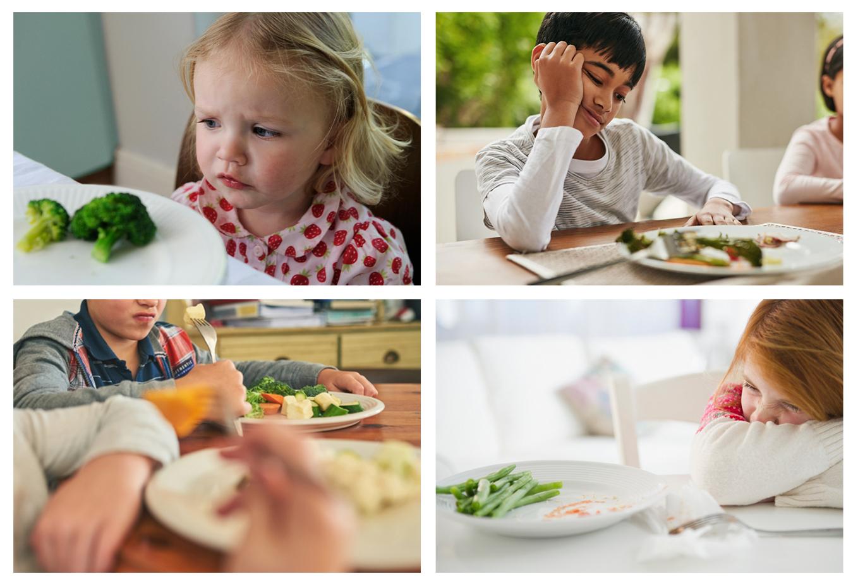 Weerstand bij kinderen voor groenten is van alle tijden