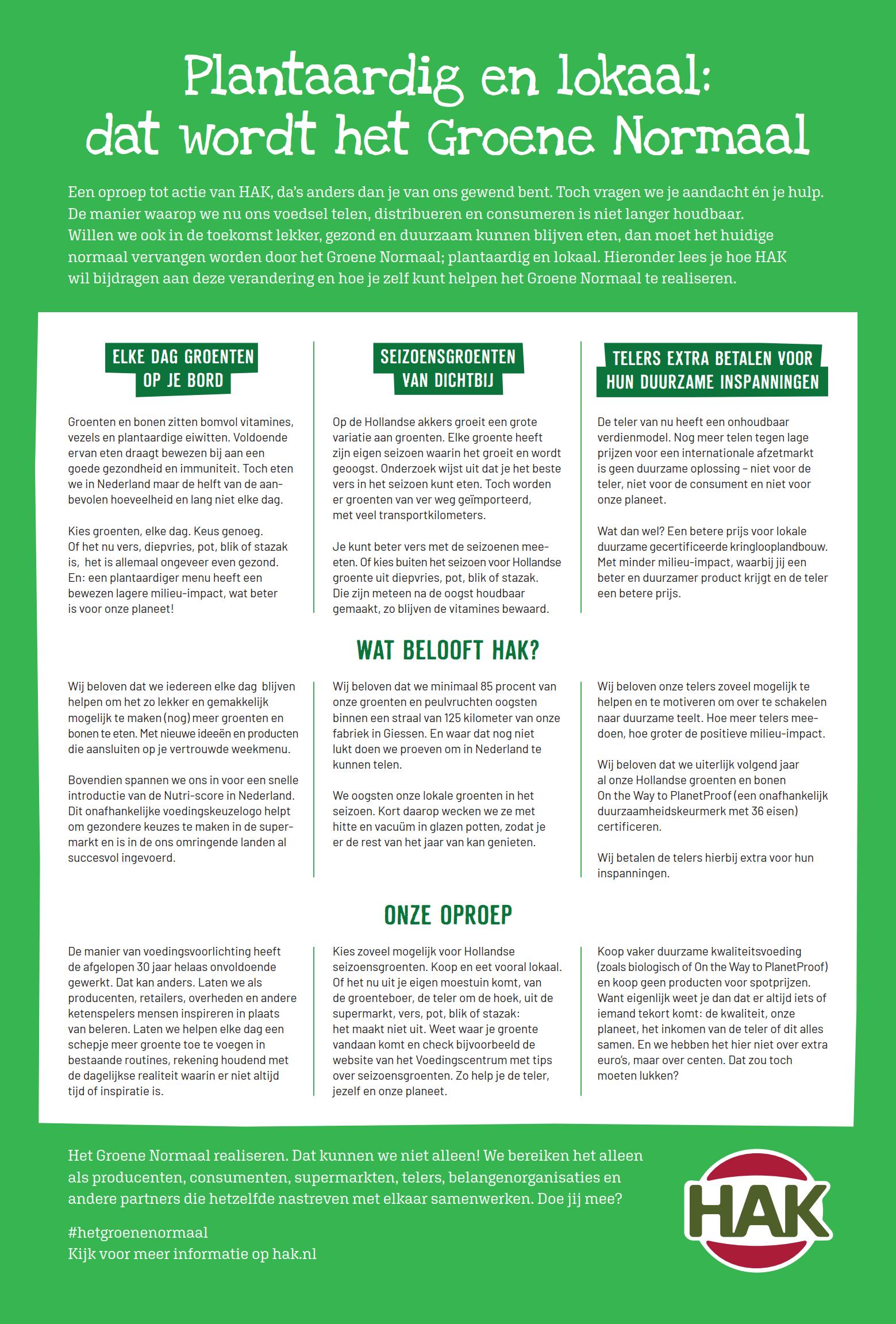 Manifest Het Groene Normaal 1
