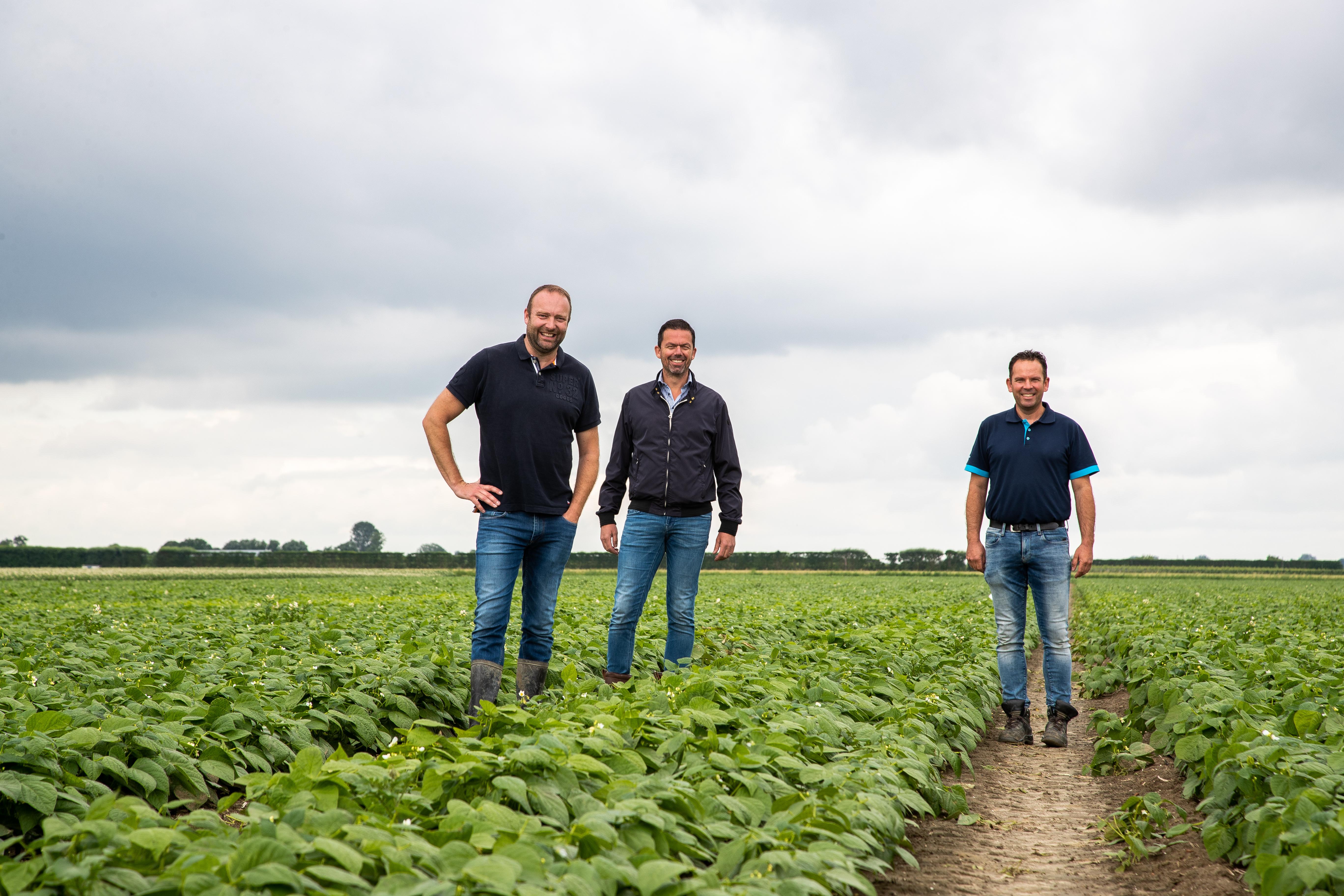 Anne Douwe van der Zee, Joachim Nieuwhoff en Pieter Pateer