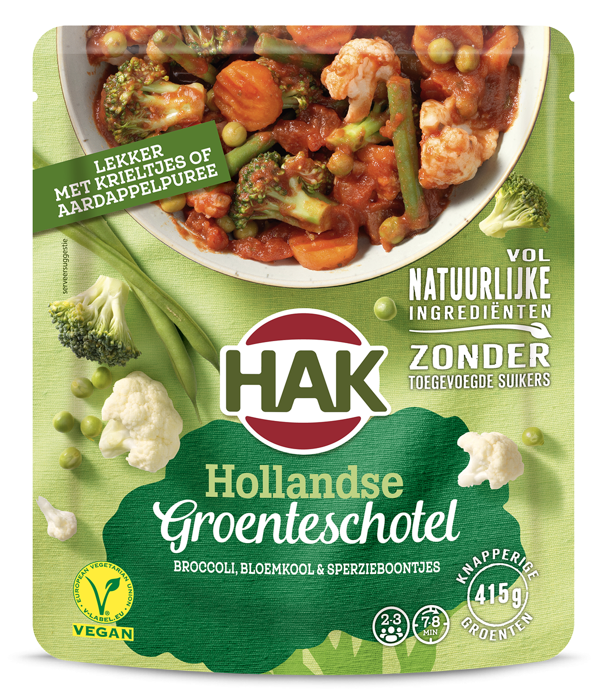 Hak Groenteschotel Hollands 500G Nl Ean 8720600616181