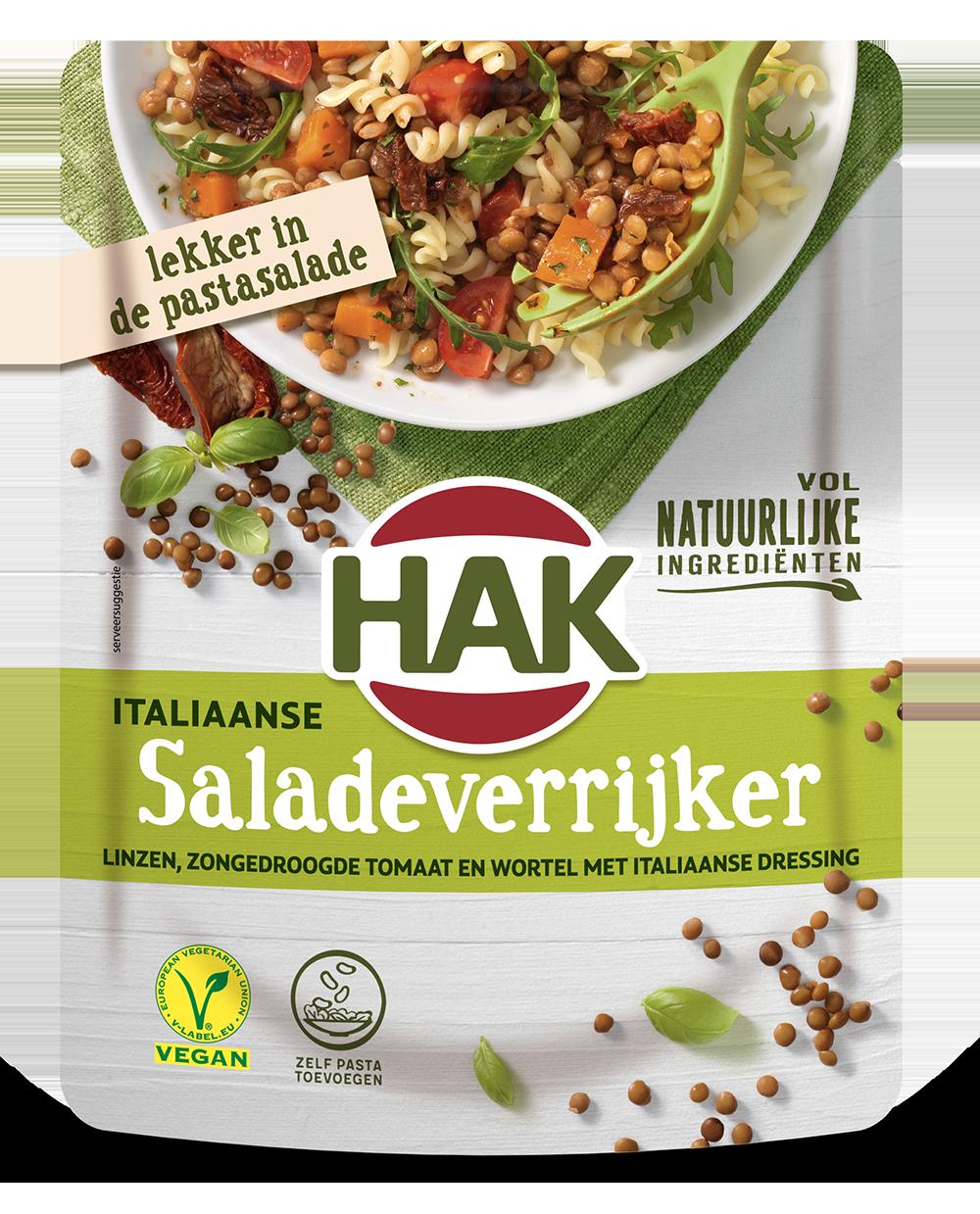 Hak Salade Verrijker Italiaans 250G Nl Ean 8720600616037