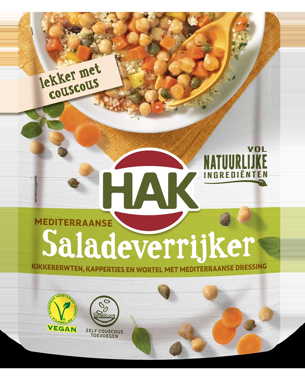 Hak Salade Verrijker Mediterraans 250G Nl Ean 8720600616075