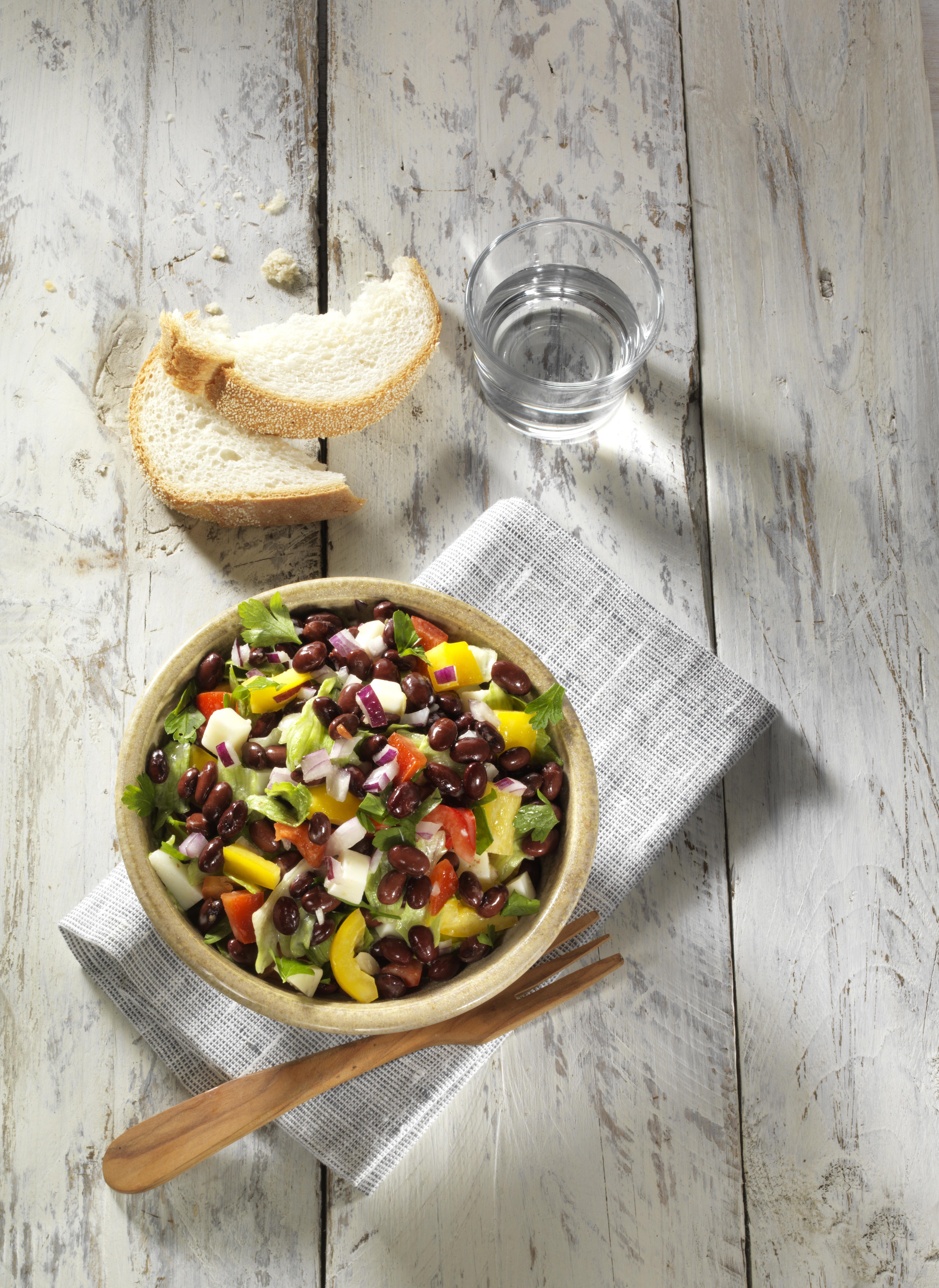 Kidneybonen Salade Boven