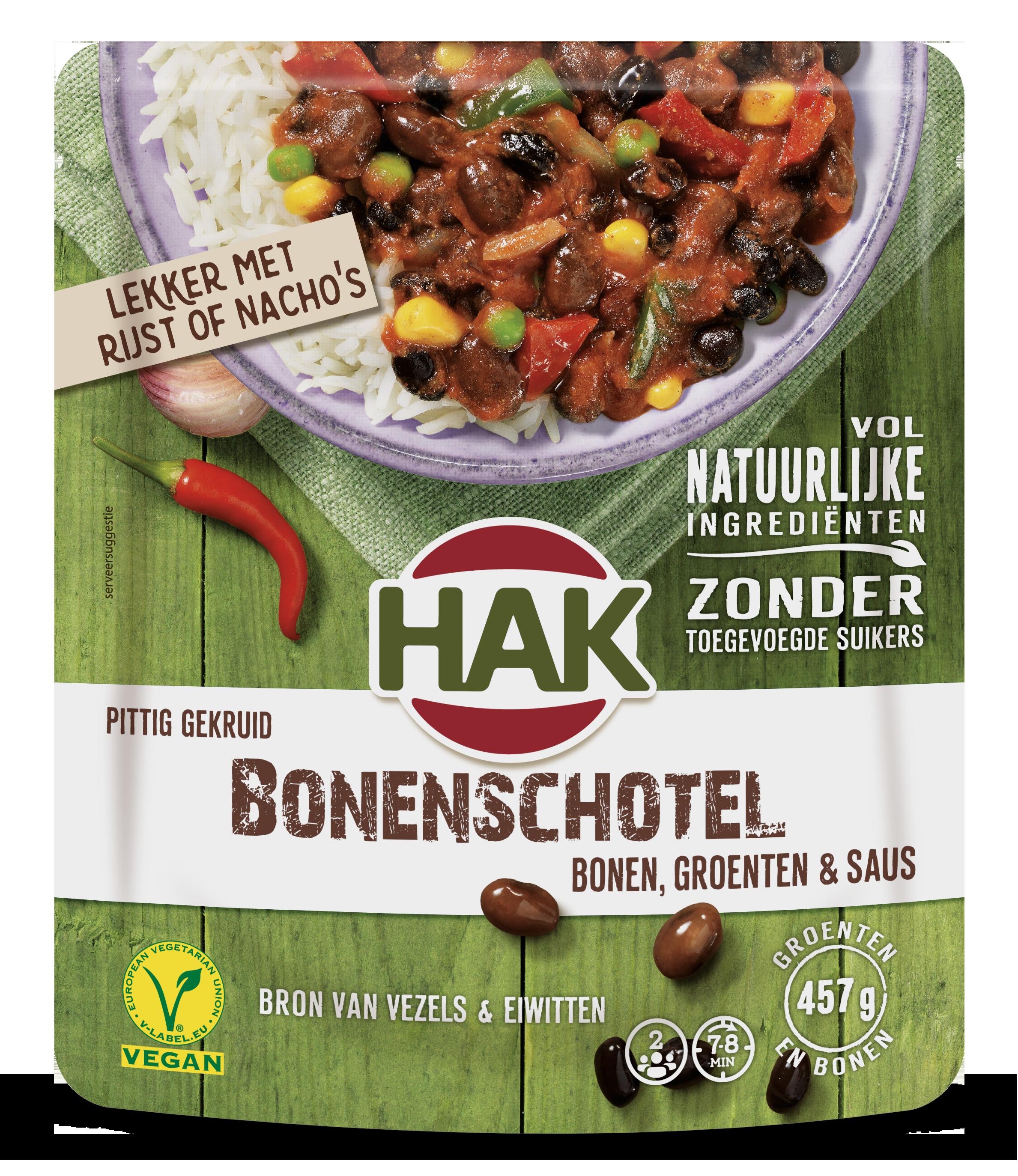 Hak Bonenschotel Nl 550G Ean 8720600616327