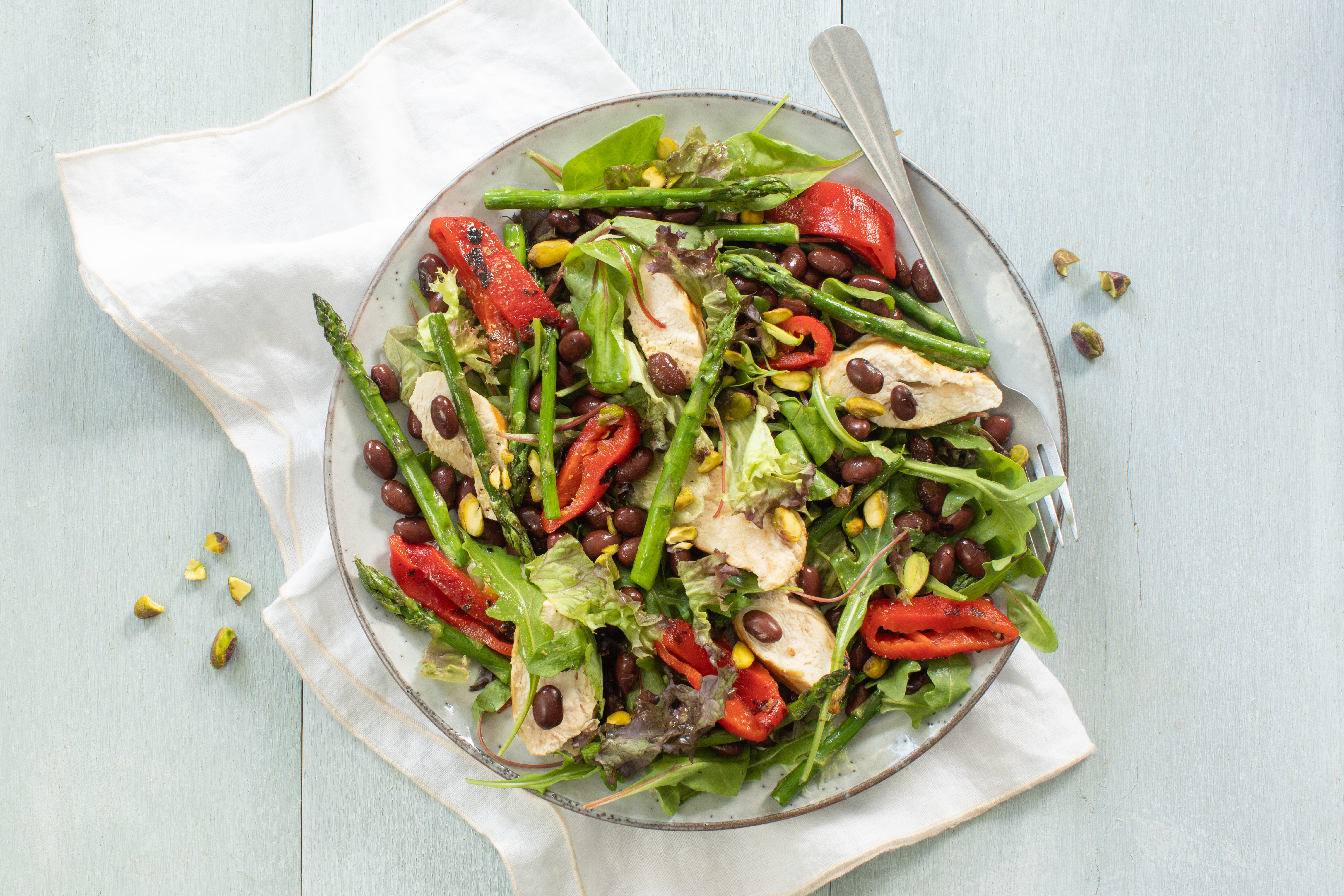 Kidneybonen salade kip nw 01