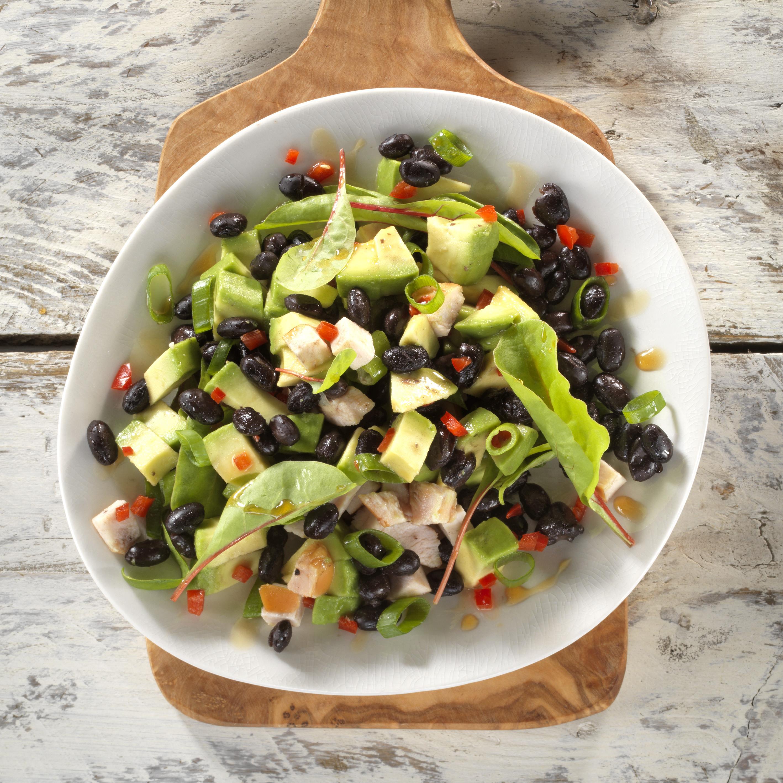 Zwarte Bonen Salade Recht 24 24