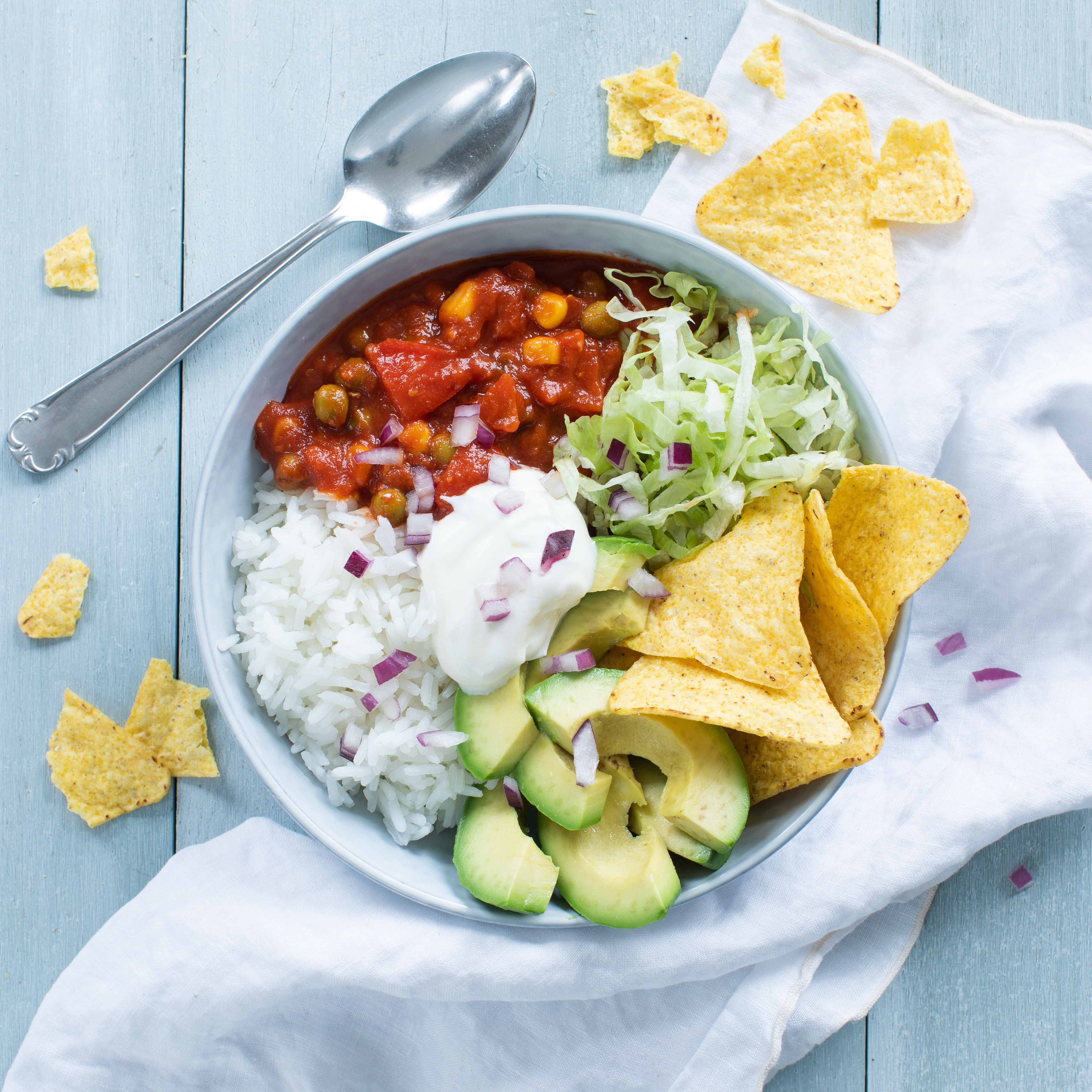 HAK Mexicaanse groenteschotel mexicaanse bowl 1 zonder product