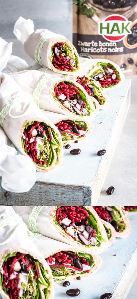 Lunchwrap Zwarte Bonen 3